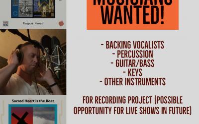 Catholic Musicians Wanted!