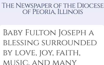 Diocese of Peoria shares Fulton's Story