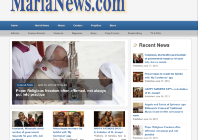 Catholic Media Portfolio